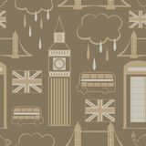 London seamless pattern Royalty Free Stock Images