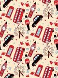 London seamless pattern royalty free stock photography