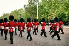 London security. While they are changing the shift Royalty Free Stock Image