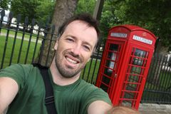 London selfie Royalty Free Stock Photography