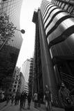 LONDON - SEPTEMBER 21: Den Lloyds byggnaden Royaltyfria Foton