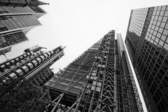 LONDON - 21. SEPTEMBER: Leadenhall-Gebäude im Bau Stockfotografie