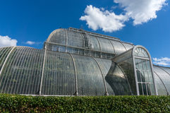LONDON -SEPTEMBER 7 : Palm House at Kew Gardens on September 7, Royalty Free Stock Photography