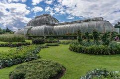 LONDON -SEPTEMBER 7 : Palm House at Kew Gardens on September 7, Stock Photos