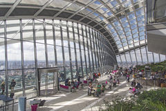 London - September 27, 2015: The Skygarden Royalty Free Stock Image
