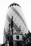 LONDON - SEPTEMBER 21: 30 St Mary Axe, Swiss Re, Gherkin Stock Image