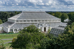 LONDON -SEPTEMBER 7 : The Temperate House at Kew Gardens on Sept Royalty Free Stock Photo