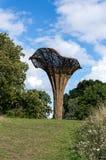 LONDON -SEPTEMBER 7 : Tom Hare's Fungi Fairy Ring at Kew Gardens Stock Photography