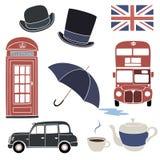 London set. Royalty Free Stock Photos