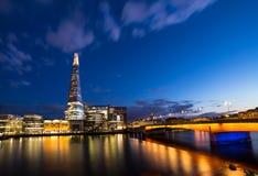 London. The Shard , London Bridge ,Thames River ,Capital of England London Stock Image