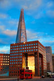 London The Shard building at sunset Stock Photography