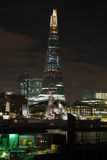 London Shard night Royalty Free Stock Images
