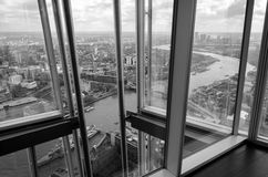 London from the Shard Stock Photos