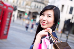 London shopping Stock Photography
