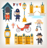 London sights and people Royalty Free Stock Photography