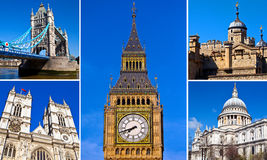London Sightseeing Stock Images