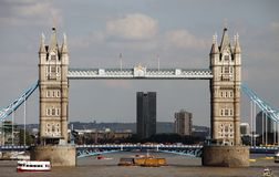 London sightseeing: Tower bridge Stock Images