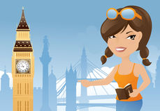 London Sightseeing Royalty Free Stock Images