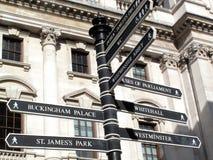 London signpost Stock Image