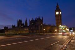 London sikt Arkivfoto