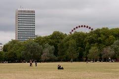 London sikt från Hyde Park Royaltyfria Foton
