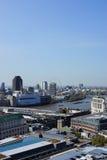 London - sikt från Sts Paul domkyrka Fotografering för Bildbyråer