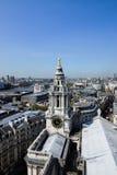 London - sikt från Sts Paul domkyrka Royaltyfria Bilder