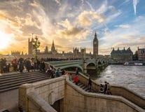 London sikter Royaltyfria Bilder