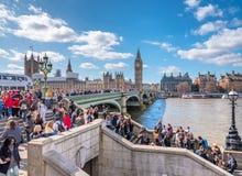 London sikter Arkivbild