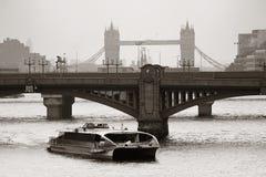 London silhouette Royalty Free Stock Photos