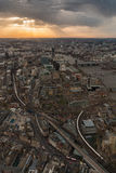 London from the sky Royalty Free Stock Images
