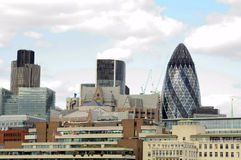 A london skyline Royalty Free Stock Photos