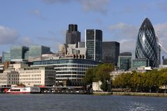 London Skyline Stock Photography