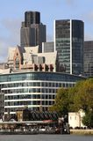London Skyline. A Shot of the cityscape of London 2009 Royalty Free Stock Photos