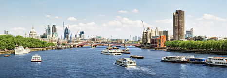 London Skyline Royalty Free Stock Images