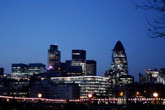 London-Skyline Stockbilder