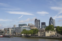London-Skyline Lizenzfreies Stockfoto