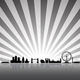London skyline vector illustration