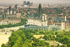 London skyline. Beautiful city landmark, UK Royalty Free Stock Image