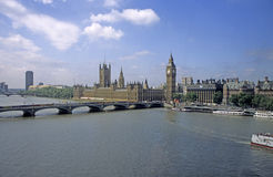 London skyline with Big Ben Stock Photo