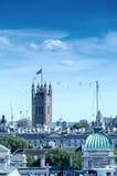 London skyline with Big Ben Royalty Free Stock Image