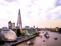 London skyline and City Hall Royalty Free Stock Photography