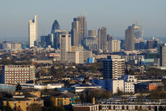 London skyline in the early evening Royalty Free Stock Image