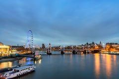 London Skyline England Royalty Free Stock Image