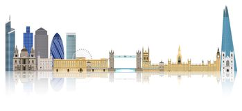 London skyline  - England Royalty Free Stock Image
