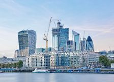 London-Skyline, England, Vereinigtes Königreich stockfotografie
