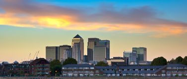 London skyline Stock Images