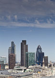 London-Skyline, Großbritannien Stockfoto