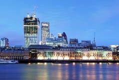 London-Skyline, Großbritannien, England Stockbild