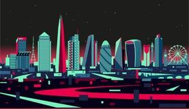 London skyline. London England vector stylized Skyline vector illustration